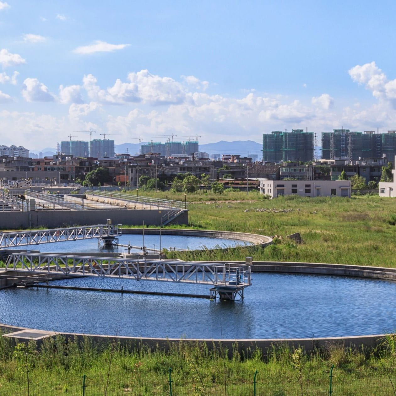 Water & Wastewater Treatment plant